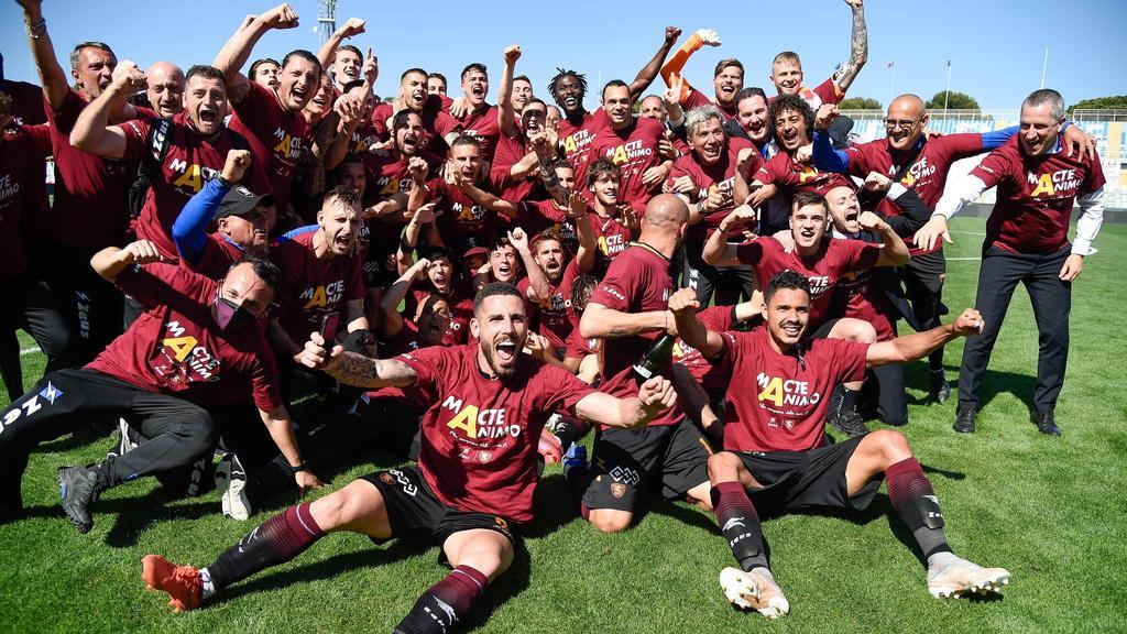 Spielt nächste Saison in der Serie A: Der US Salernitana