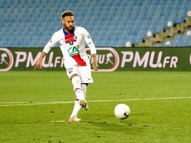Neymar no será de la partida en la final de la Copa de Francia.
