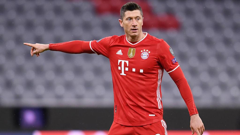 Robert Lewandowski steht noch bis 2023 beim FC Bayern unter Vertrag