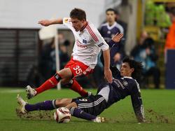 Stürmerduell in der Europa League 2009/10