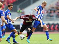 Kein Sieger zwischen Nürnberg und Hertha