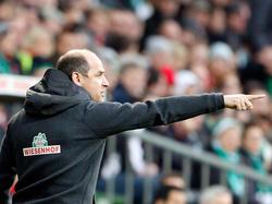 Viktor Skripnik sieht seine Mannschaft inMönchengladbach nicht chancenlos
