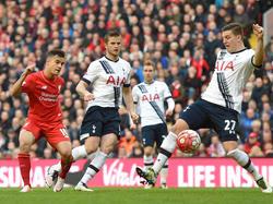 Coutinho bringt Liverpool in Führung