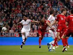 Arturo Vidal erzielte den frühen Treffer für die Bayern
