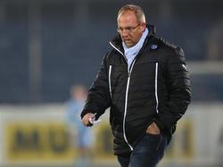 Wr. Neustadt Manager Günter Kreissl sucht nach Verstärkungen für das Bundesliga-Schlusslicht
