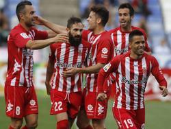 Imagen de archivo de un partido del Girona FC. (Foto: Imago)