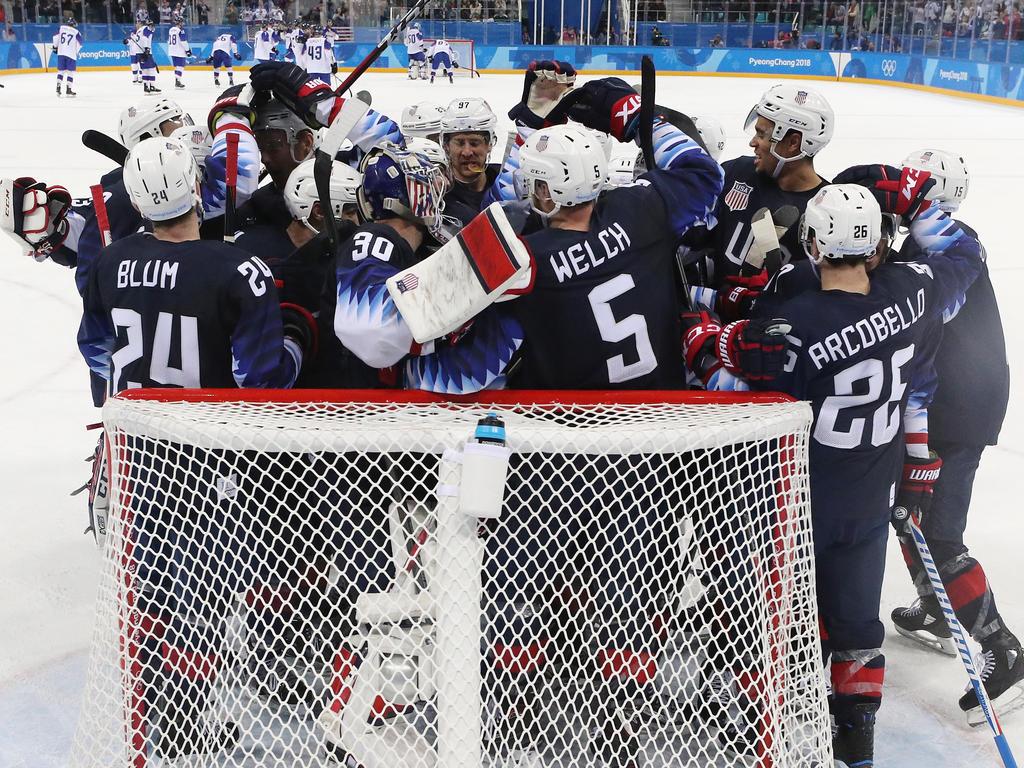 Die US-Eishockeycracks vertrauen bei Olympia auf deutsche Hände