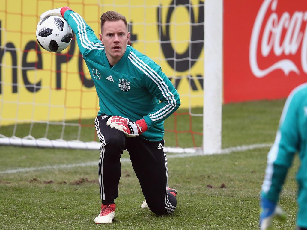 Marc-André ter Stegen vertritt Manuel Neuer im DFB-Tor