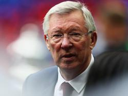 Sir Alex Ferguson musste sich einer Not-OP unterziehen