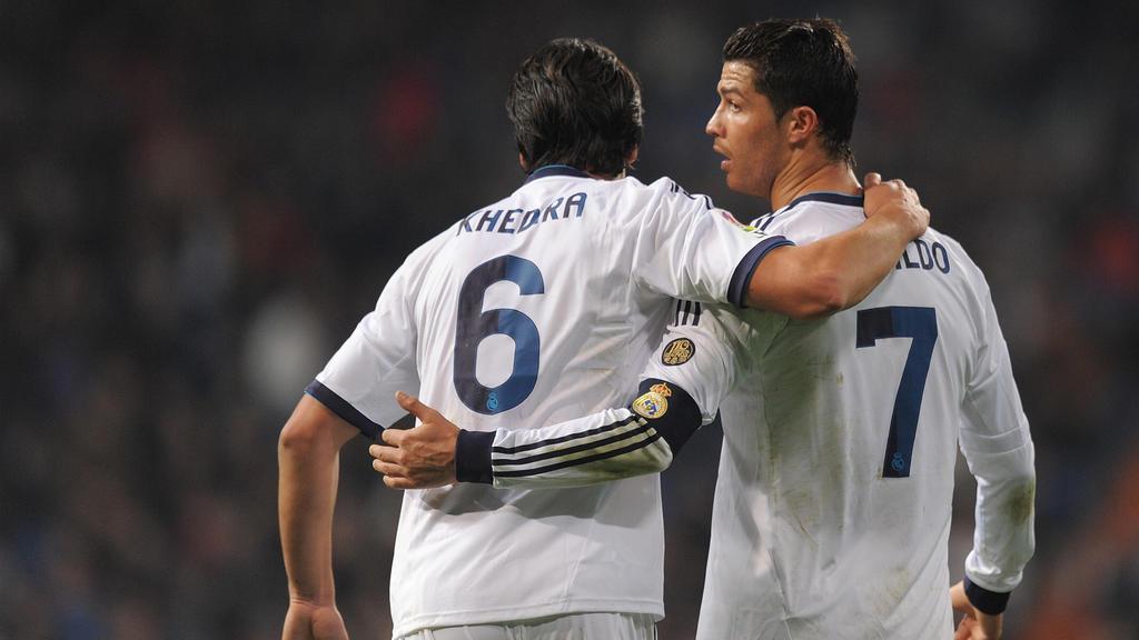Khedira (l.) und Ronaldo spielten bereits in Madrid zusammen