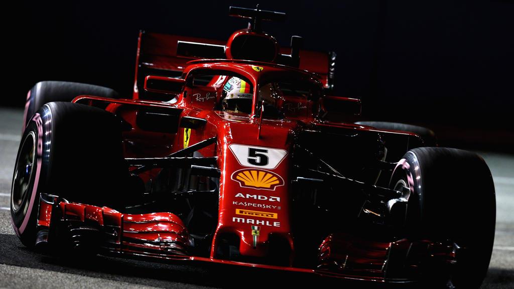 Glück im Unglück für Sebastian Vettel