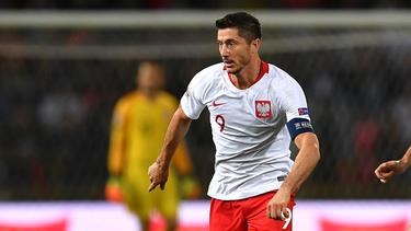 Bittere Pleite im 100. Spiel für Polen für Robert Lewandowski