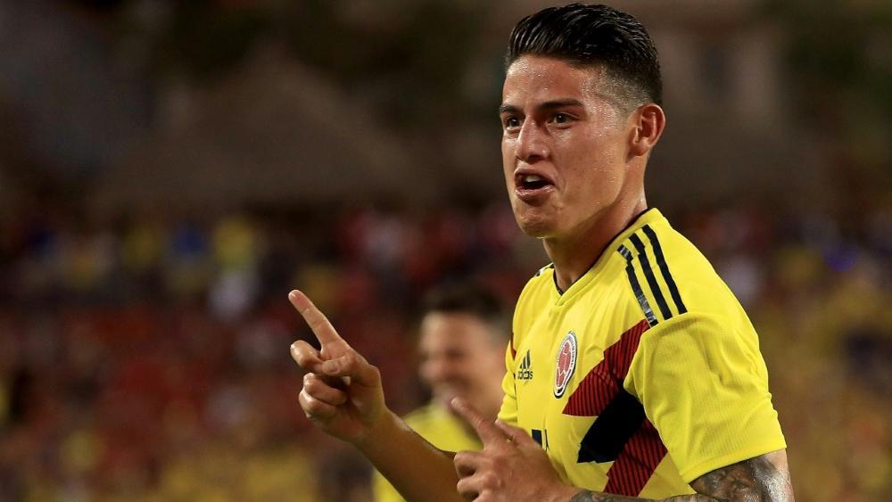 Bayerns James trifft bei Kolumbien-Sieg