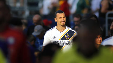 Zlatan Ibrahimovic gab sich gewohnt selbstbewusst