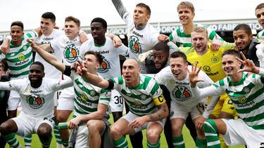 Celtic feiert die achte Meisterschaft in Folge