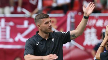 Lukas Podolski könnte bald in Mexiko kicken