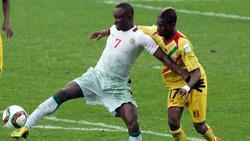 Ibrahima Wadji (l.) wurde positiv auf Morphin getestet