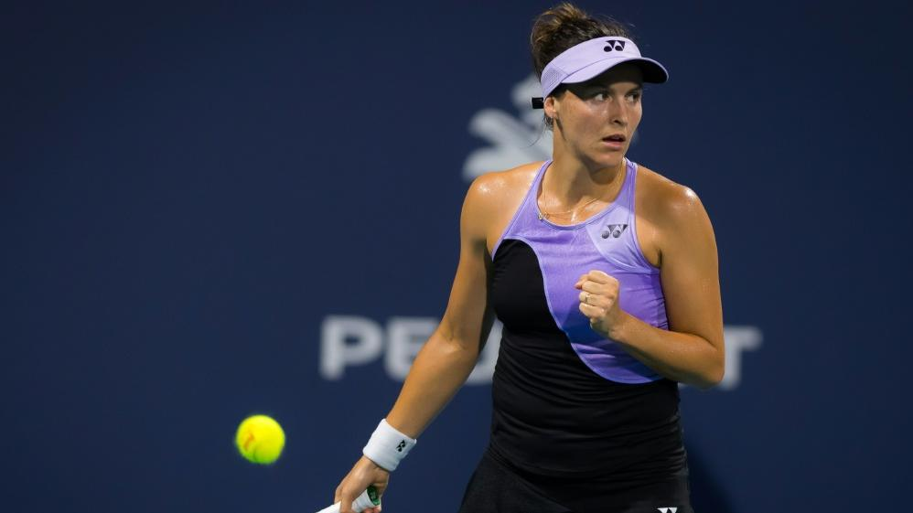 Tatjana Maria steht im Achtelfinale des WTA-Turniers von Nottingham