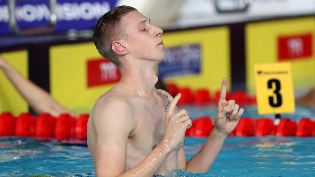 Florian Wellbrock ist der deutsche Hoffnungsträger für die Schwimm-WM