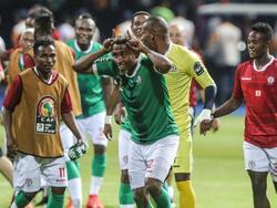 Die Spieler aus Madagaskar verblüffen bisher beim Afrika-Cup