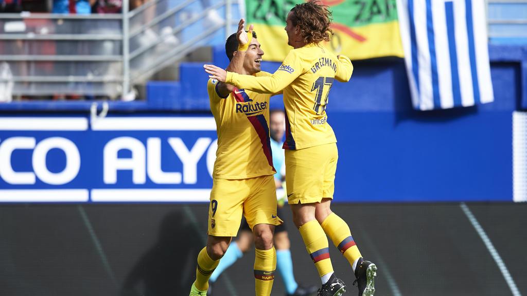 Antoine Griezmann (r.) traf zum zwischenzeitlichen 1:0