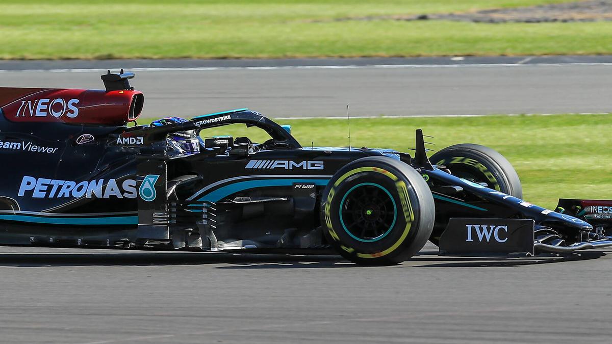 Lewis Hamilton fiel im Sprint Race auf Platz zwei zurück