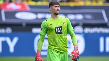 Gregor Kobel wechselte im Sommer vom VfB Stuttgart zum BVB