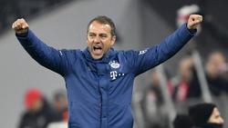 Hansi Flick war mit dem 5:0 gegen den FC Schalke 04 sehr zufrieden