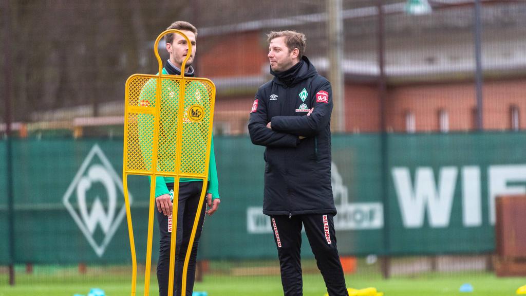 Florian Kohfeldt bleibt Trainer des SV Werder Bremen