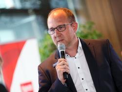 Sturm-Sportchef Günter Kreissl sieht keinen Grund in ein Stimmungstief zu verfallen