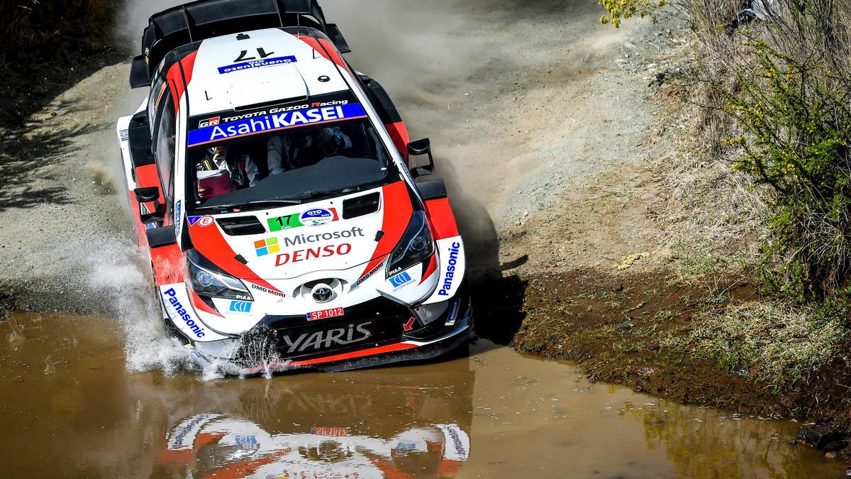Ogier führt bei der Rallye Mexiko