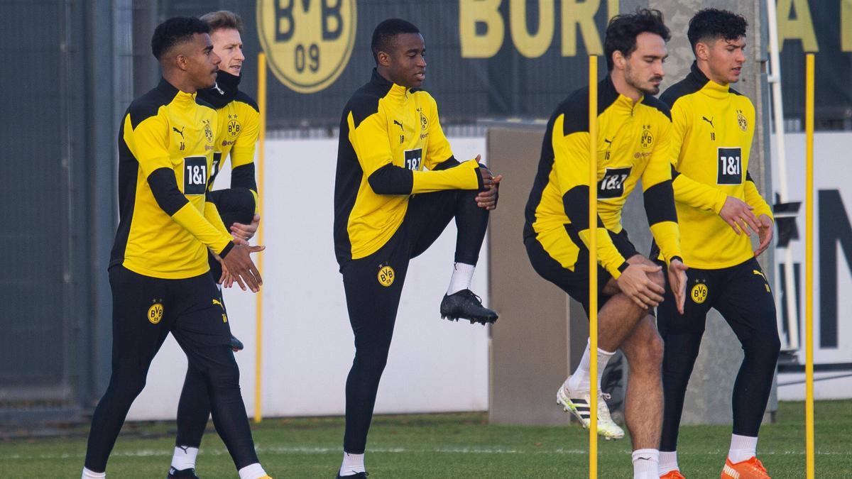 Steht vor seinem ersten Bundesliga-Einsatz: BVB-Talent Youssoufa Moukoko