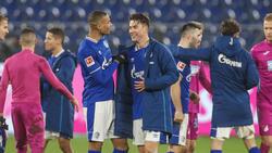 Matthew Hoppe (r.) ist der neue Hoffnungsträger des FC Schalke 04