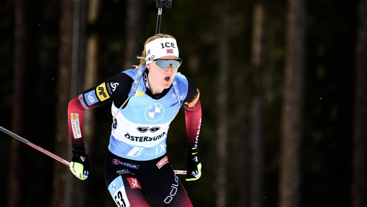 Marte Olsbu Röiseland gewinnt den letzten Verfolger der Saison