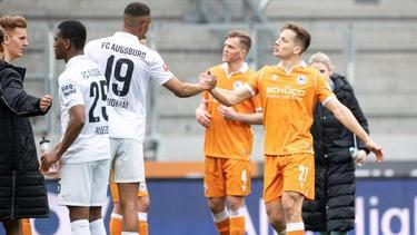 Der FC Augsburg und Arminia Bielefeld trennten sich mit einem 0:0