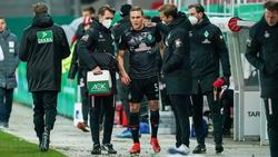 Ludwig Augustinsson verletzte sich am Oberschenkel