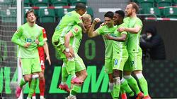 Der VfL Wolfsburg steht vor dem Einzug in die Champions League