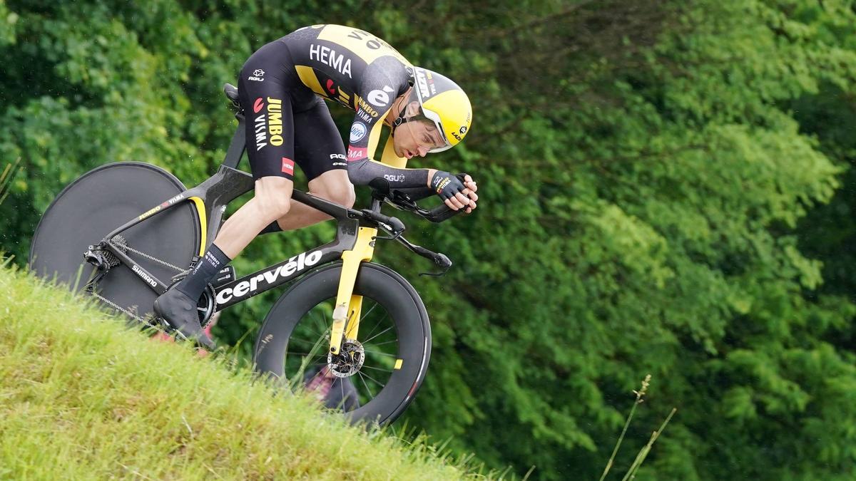 Tom Dumoulin gab bei der Tour de Suisse sein Comeback