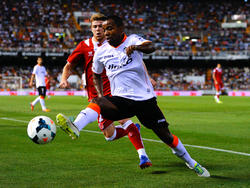 Dorlan Pabón (v.) droht in der Europa League auszufallen