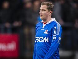 Jack Tuyp baalt na het competitieduel NEC Nijmegen - Helmond Sport. (01-02-2015)