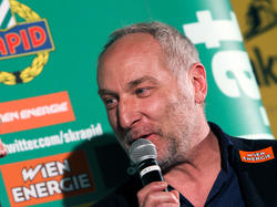 Rapid-Sportdirektor Andreas Müller ist für die Zukunft guter Dinge