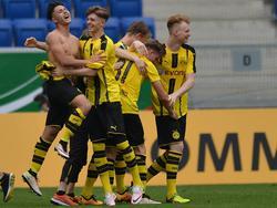Die Dortmunder A-Junioren sichern sich den Meistertitel