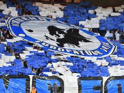 Imagen de un mosaico en el estadio del Copenhague en la Champions. (Foto: Imago)