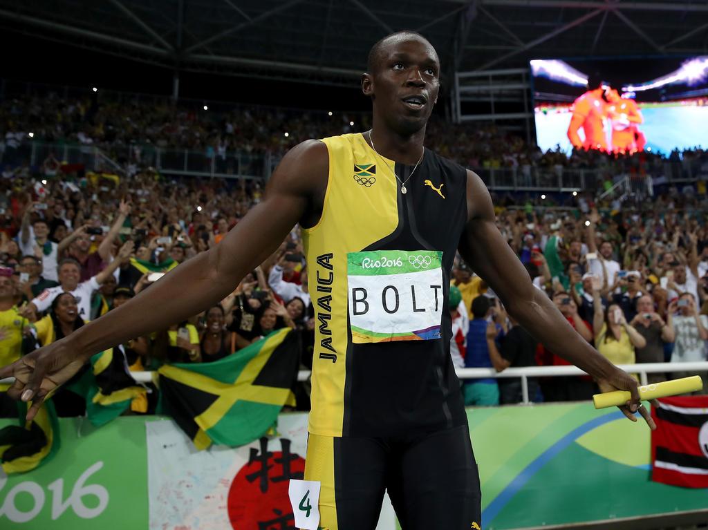 Usain Bolt dominierte auch in Rio
