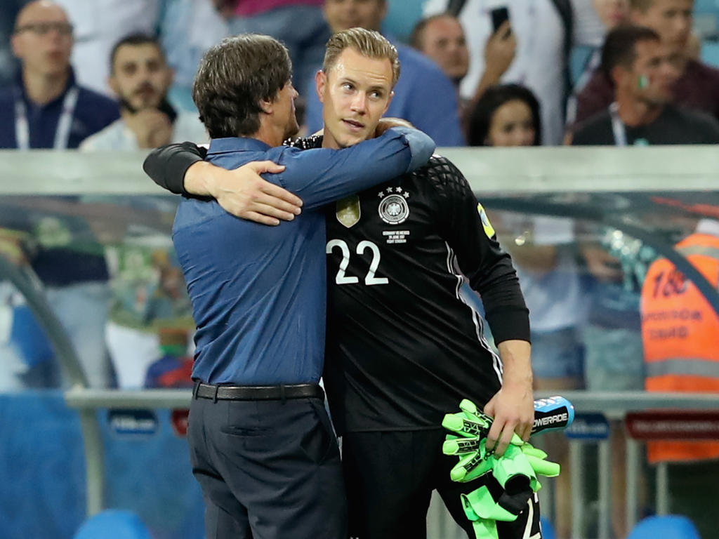 Joachim Löw wird in der Champions League auch ein Auge auf Marc-André ter Stegen haben