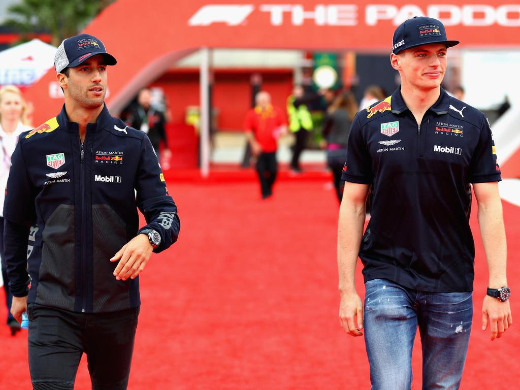 Max Verstappen und Daniel Ricciardo freuen sich aufs Österreich-Heimspiel