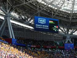 Frankreich bekam im Spiel gegen Australien nach Videobeweis einen Elfmeter zugesprochen