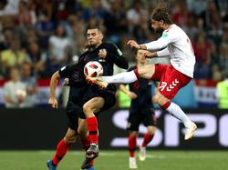 Mateo Kovacic (l.) laboriert an einer Schulterverletzung