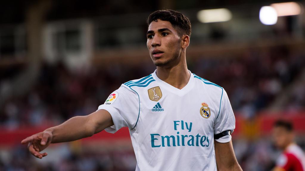 Achraf Hakimi wurde bei Real Madrid ausgebildet
