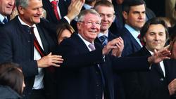 Sir Alex Ferguson kehrte an seine alte Wirkungsstätte zurück